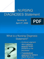 Nursing Diagnoses Tutorial