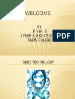 Gene Technology Divya