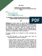 ley 10559 PBA coparticipación municipal
