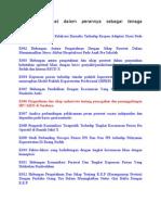 kumpulan judul penelitian dalam keperawatan