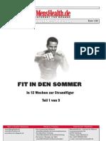 Mens Health Fit in Den Sommer Teil 1 German eBook-Hs