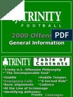2000 Trinity High School KY Spread Offense - 137 Slides[1]