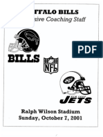 2001 Buffalo Bills Def Scout Report vs Jets