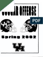 2002 Univ of Houston Spring Offense[1]
