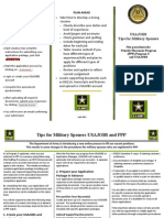 Military Spouse info on how to apply with the new USA Jobs system