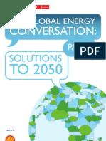 Global Energy Conversation II_report