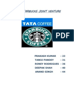 Tata Starbucks Joint Venture - Final