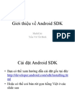 [Laptrinh.vn-android].1.Gioi Thieu Ve Android SDK