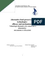 Tehnologii Alternative de Conservare a Alimentelor (Mecanisme Si Eficacitate ) ROM