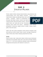 Bab-6 Struktur Polimer