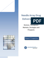 Needle Array Drug Delivery Systems Report Prospectus