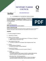 Agenda Npc 12th March 12