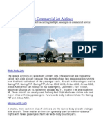 The Commercial Jet Airlines