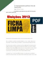 Queimadas tem representantes políticos fora de campanha eleitoral 2012