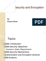 GSM Security and Encryption by Poonam Sharma