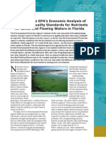 Review of the EPA's Economic Analysis of Final Water Quality Standards for Lakes and Flowing Waters in Florida