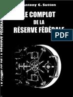 Le complot de la réserve fédéral