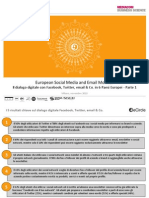 eCircle European Social Media and Email Monitor Parte 1