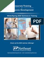Winter Spring 2009 Seminar Catalog