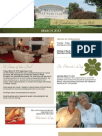 Hannibal Country Club March Newsletter