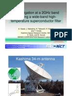 Kashima 34-m Antenna