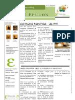 Info_epsilon-n2 08 07 Risques Industriels PPRT