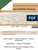 Les Licences + Les licences Creative Commons