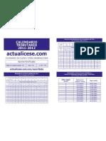 Calendario Tributario 2011-2012