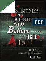 Testimonies of Scientists