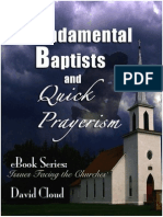 Fundamental Baptists and Quick Prayerism