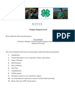 4-H Webinar Request Form