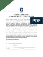 Carta de compromiso código de ética