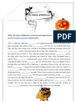 The History of Halloween Transcript Gapped