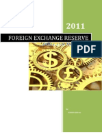 Indian Foreign Exchange Reserve
