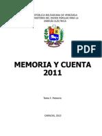 Memoria_y_Cuenta_2011_MPPEE_Tomo_I