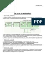 Práctica nº 17 - Análisis de sincronismos TFT -