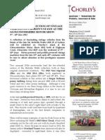 Glos Motor Show Press Release#
