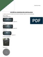 Práctica nº 11 - Sistema de sonorización centralizada -