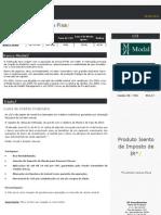 Oportunidade Renda Fixa - LCI Banco Modal