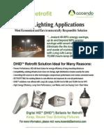 Retrofit DHID Lighting Ballasts - Street Lighting Applications