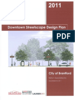 Downtown Streetscape Design Plan - March 5, 2012