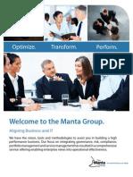 Manta Group Brochure