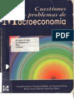 Libro Cues Ti Ones y Problemas de Macro Eco No Mia - Consuelo Gamez