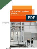 """La """"última"""" reforma laboral (Pwc) -Feb12"""