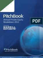 PitchBook PE Breakdown 2012[1]