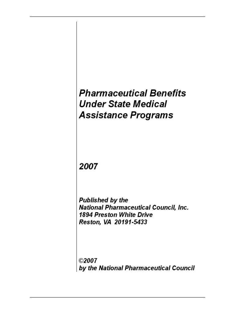 Pharmaceutical Benefits Under State Medical Assistance Programs - Metroplus invoice number
