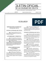 Ordenanza de Terraza de Ceuta - Ascorce