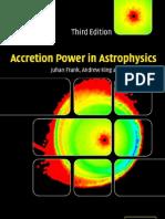 Accretion Power in Astrophysics