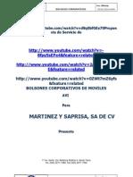 Avi Bolson de Minutos Martinez y Saprisa, Sa de Cv