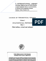 Vol 5 - Landau, Lifshitz - Statistical Physics Part 1